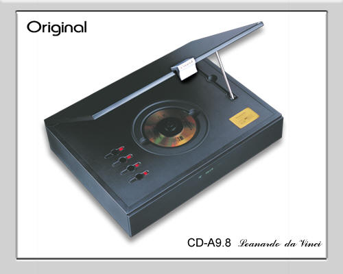 Original CD-9.8 Da-Vinci top loader HDCD